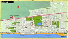 Rimini Italy Tourist Map Rimini Italy Mappery