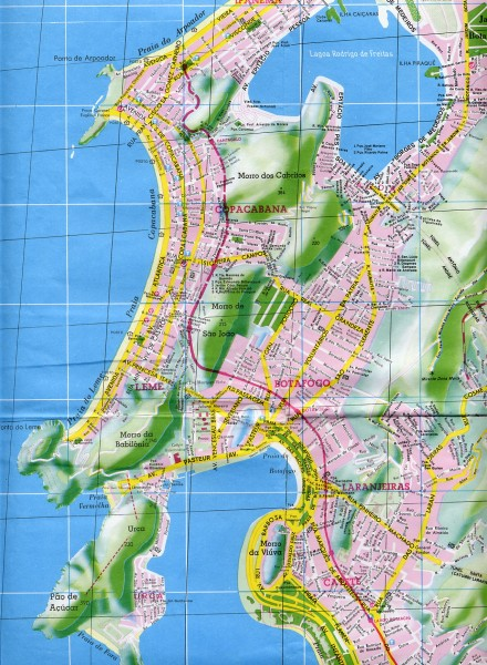 Rio de Janeiro maps • mappery