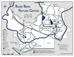 River Bend Nature Center Map