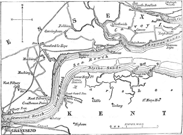 River Thames Map