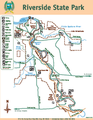 Riverside State Park Map