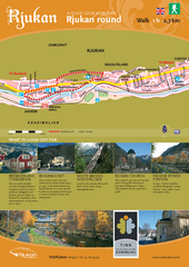 Rjukan Walking Map