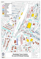 Rockdale, NSW Parking Map