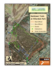 Rocktown Trail Map