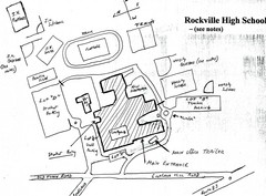 Rockville High School Map