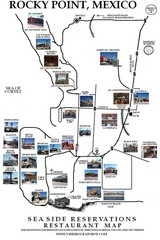 Rocky Point, New Mexico Restaurants Map