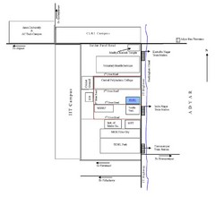 Roja Muthiah Research Library Location Map
