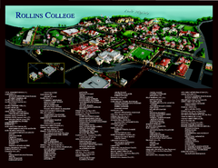 Rollins College Map