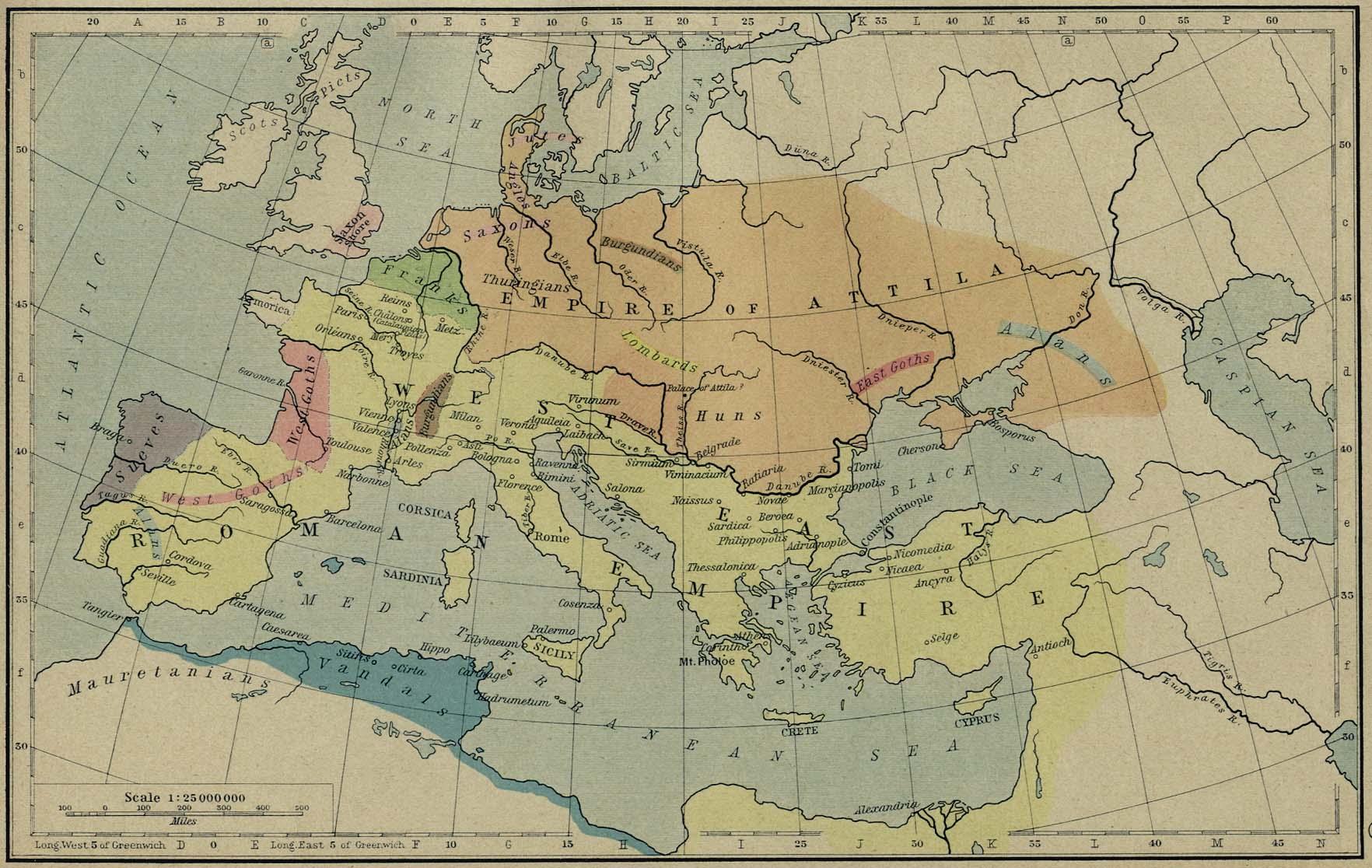Roman Empire Map Roman Empire Europe Mappery - Rome empire map