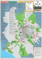 Rome Biking Map