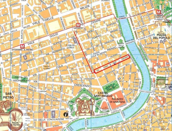 Rome City Tourist Map Rome mappery – Tourist Maps Of Rome
