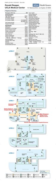 Ronald Reagan ULCA Medical Center Map