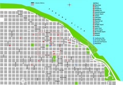 Rosario Tourist Map