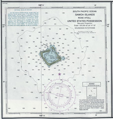 Rose Atoll Tourist Map