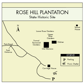 Rose Hill Plantation Map