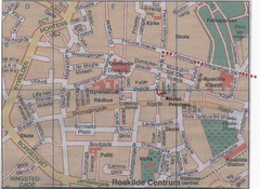 Roskilde Town Map