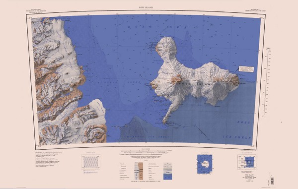 Ross Island Topo Map
