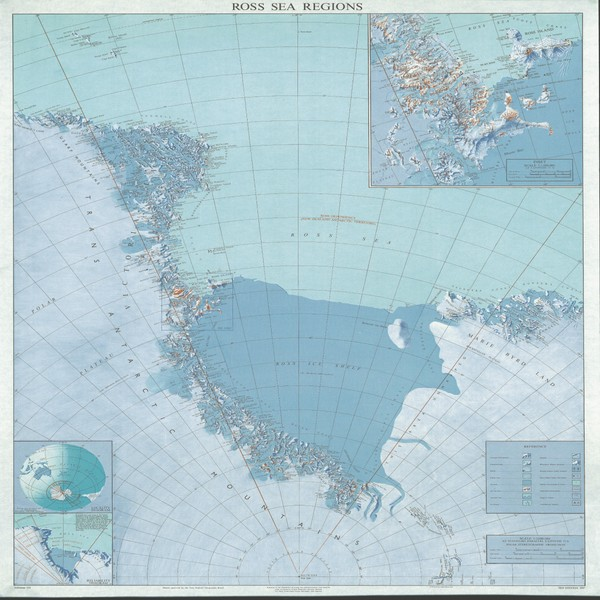 Ross Sea Regions Map