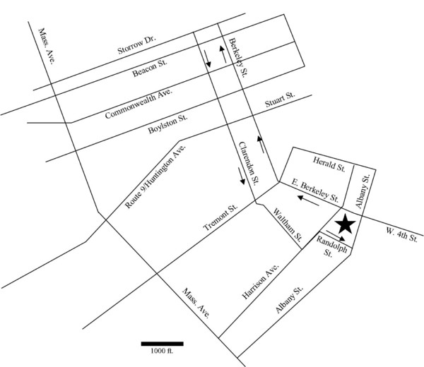 Rotch Field Location Map