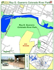 Roy G. Guerrerro River Park Map
