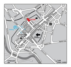 Royal Albert Memorial Museum Location Map