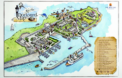 Royal Naval Dockyard Tourist Map