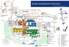 Ruhr-Universitat Campus Map