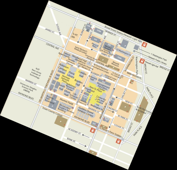 rutgers university map rutgers university mappery