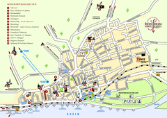 Rüdesheim Tourist Map