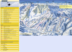 Sörenberg Ski Trail Map