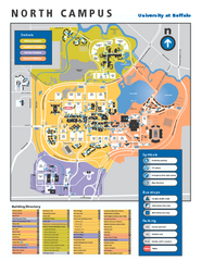 SUNY at Buffalo - North Campus Map