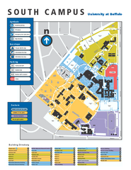 SUNY at Buffalo - South Campus Map