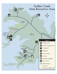 Sadlers Creek State Park Map