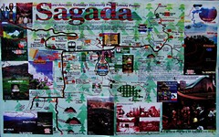 Sagada Philippines Tourist Map