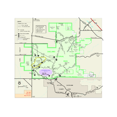 Saguaro National Park Official Park Map