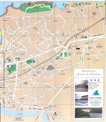 Saint Jean de Luz - East Map