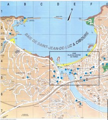 Saint Jean de Luz - West Map