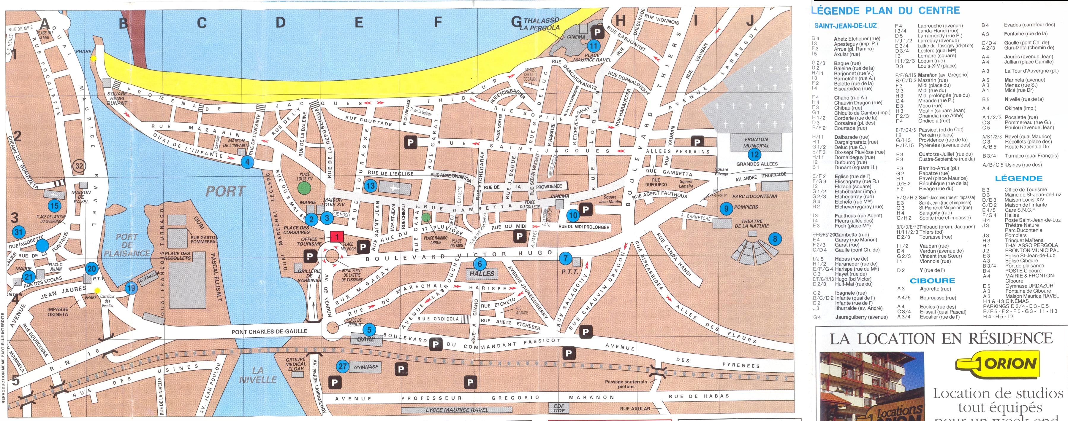 Saint jean de luz france cruise port of call - Biarritz to st jean pied de port transport ...