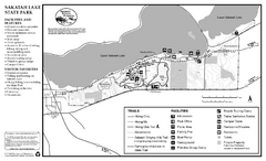 Sakatah Lake State Park Map