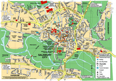 Salisbury City Map