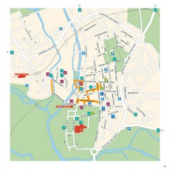 Salisbury Tourist Map
