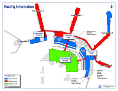 Salt Lake City International Airport Terminal Map