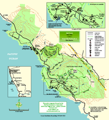 Salt Point State Park Map