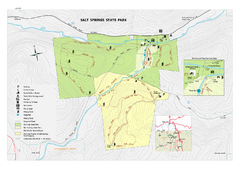 Salt Springs State Park map