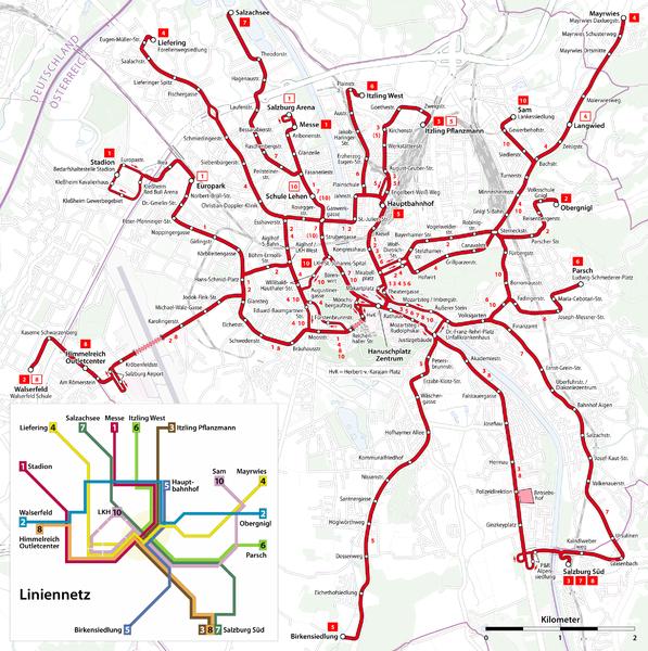 Salzburg Trolleybus Map - Salzburg • mappery on porto bus map, bucharest bus map, santiago bus map, kaiserslautern bus map, wiesbaden bus map, split bus map, mexico city bus map, munich bus map, rothenburg ob der tauber bus map, wien bus map, cuenca bus map, dresden bus map, villach bus map, regensburg bus map, osaka bus map, stuttgart bus map, thessaloniki bus map, caen bus map, vienna bus map, houston bus map,