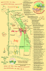 Sammamish Valley Guide Map