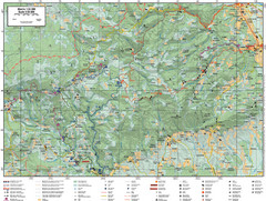 Samobor Region Cycling Route Map
