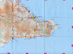 """San Antonio Del Sur - Baracoa"" Road Map"