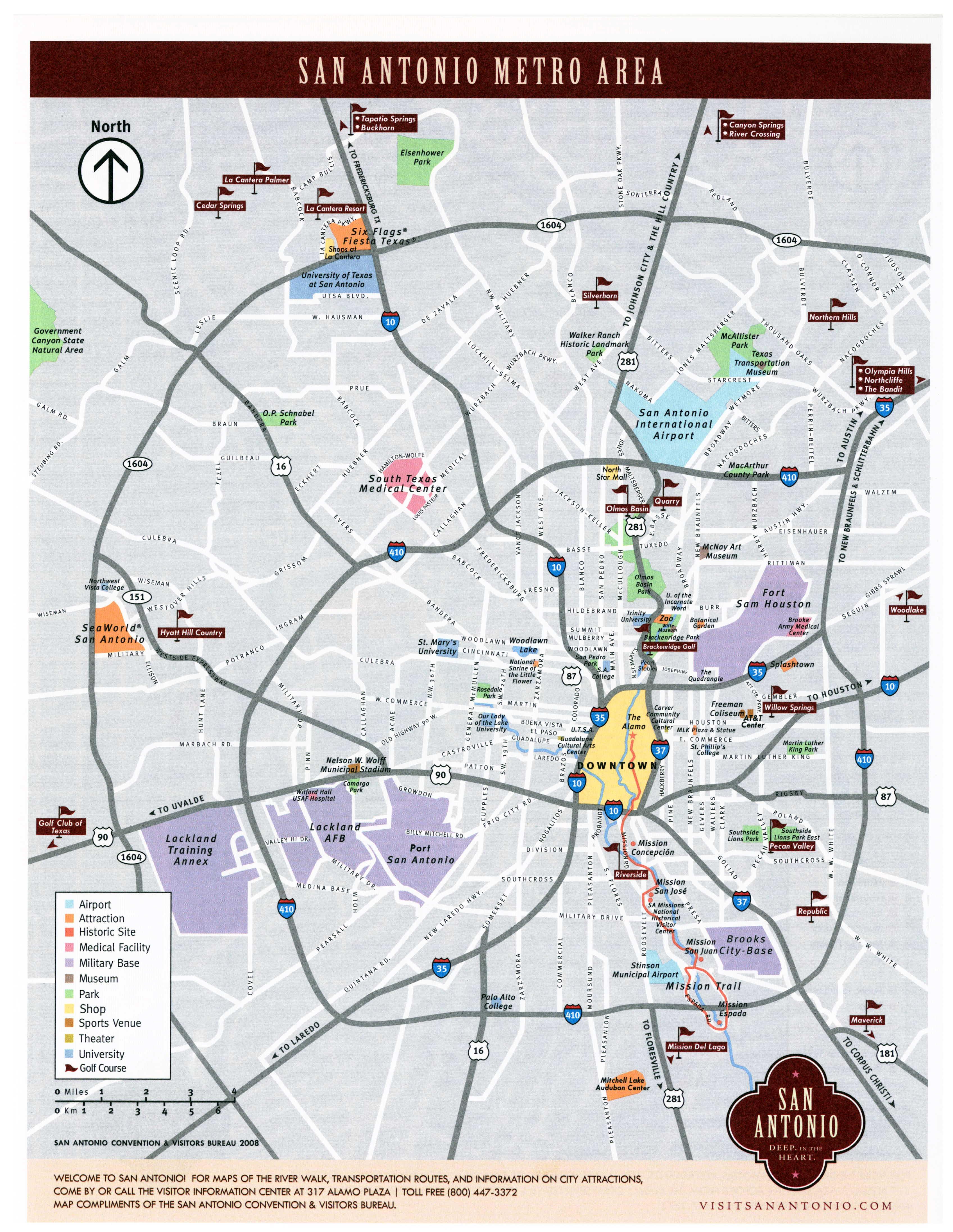 San Antonio tx County Map San Antonio Map San Antonio