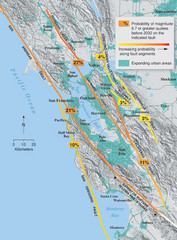 San Francisco Bay Area Faults and Earthquake...